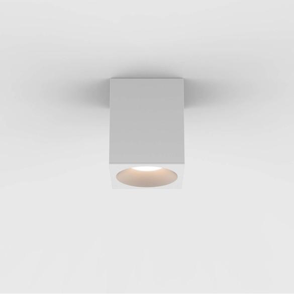 Astro 1326028 Kos Square 100 LED påbygn.spot IP65 Hvid
