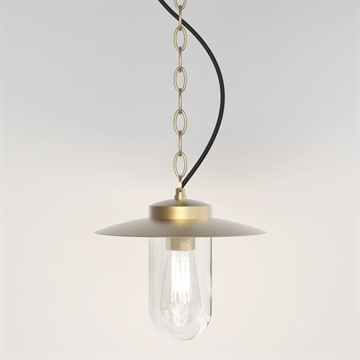 Astro 8506 Portree Pendant Coastal pendel i messing IP44