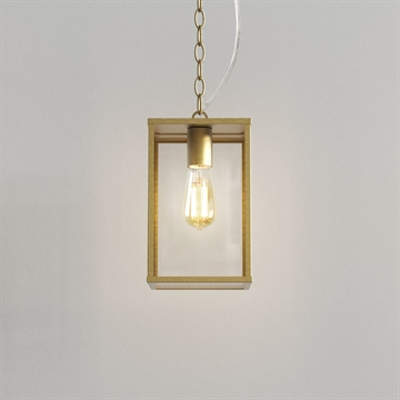 Astro 1095035 Homefield Pendant 240 messing IP44