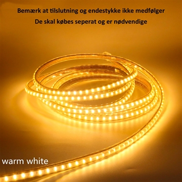 230V Led Strip 60 Led 4,5W 3000K IP67