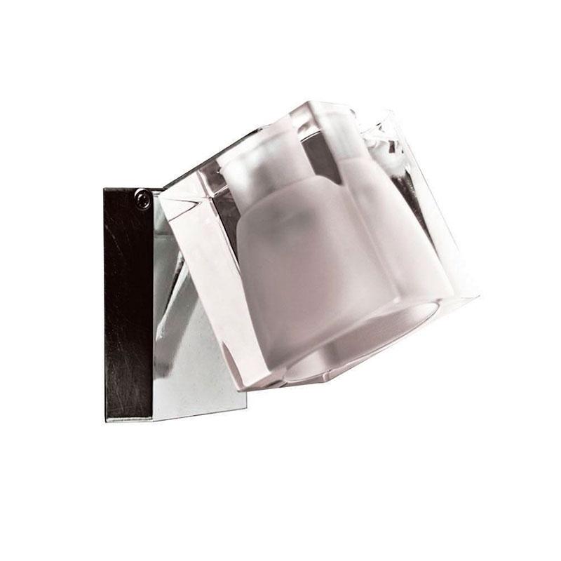 Godt D28G0300 ICE CUBE Væg/loft lampe Klar glas AF51