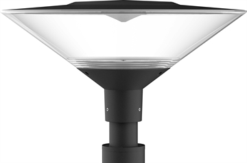 NeoPlace Park og vej armatur 28W LED Grafit sort IP65