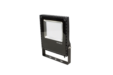 CHAMPION 100W LED flood light, IP65, sort, 4000K