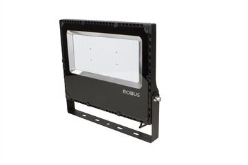 CHAMPION 200W LED flood light, IP65, sort, 4000K