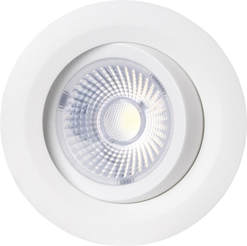 Gyro 8W LED Downlight 2700K IP44 Flere farvevalg