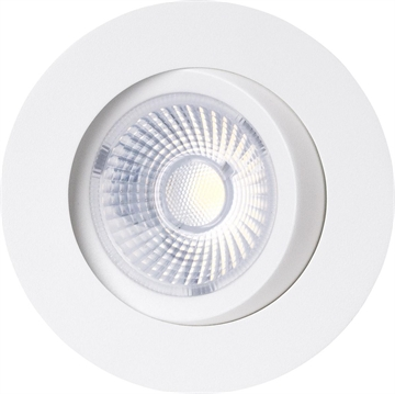 Gyro Go 8W 2700K Downlight led mat hvid IP44