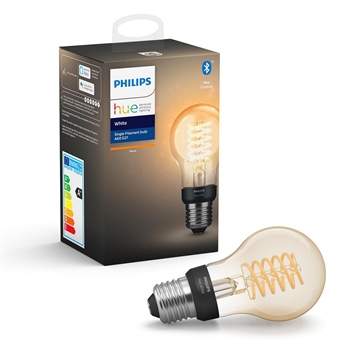 Philips Hue White Filament E27 pære A60