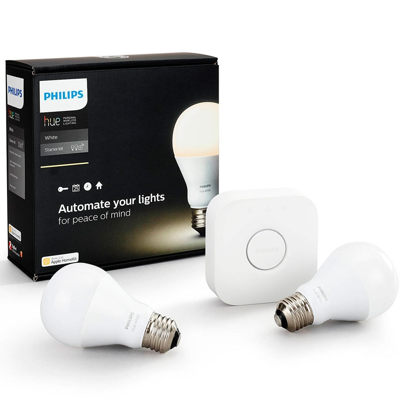 philips hue white starts t e27 med 2 p rer. Black Bedroom Furniture Sets. Home Design Ideas