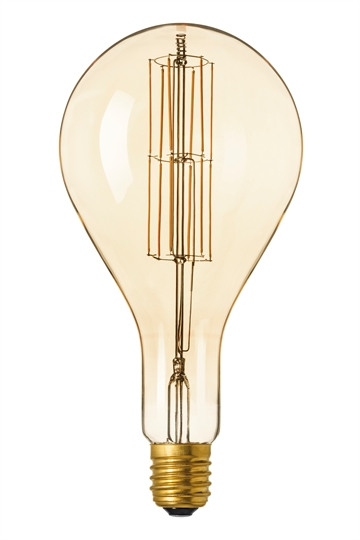 Calex 425622 Retro LED Giant Splash 11W E40 2100K Gold Dæmp