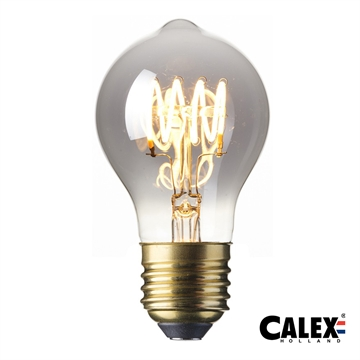 Calex LED Full Glass Flex Filament 4W E27 Titanium Dimmable