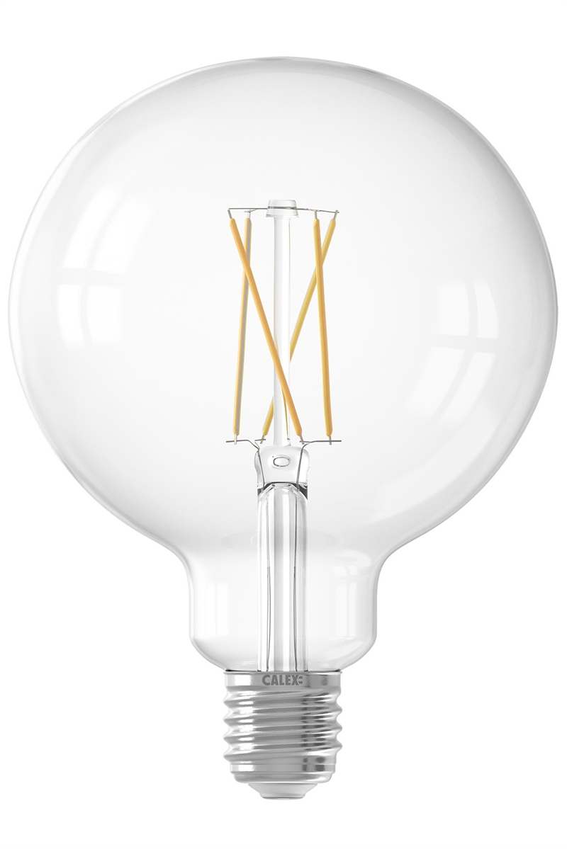 Calex Smart LED Filament Globe G125 E27 240V 7,5W 1800-3000K