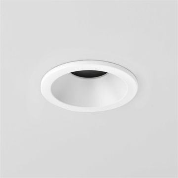 Astro 5745 Minima GU10 230v Rund downlight hvid IP65