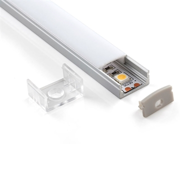 Alu Profil 8 til Led Strip 200cm