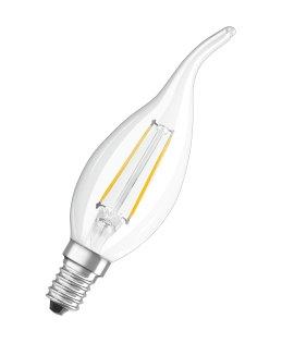 Osram 936423 LED Retro kerte vindstød 2,8W=25W klar E14