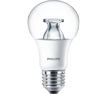 Philips Master LEDbulb 9W=60W DiamondSpark warm dimming E27 - Udgår