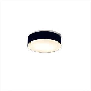 A628-001 39 Plaff-On væg/loftlampe ø20cm  Sort