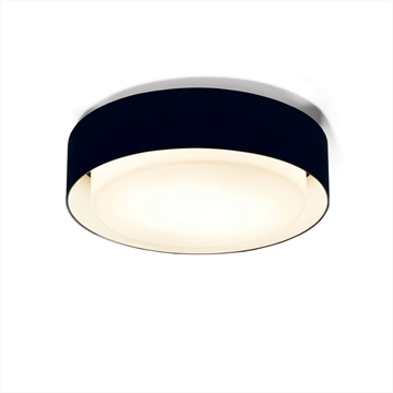A628-024 39 Plaff-On væg/loft-lampe Ø50cm  Sort