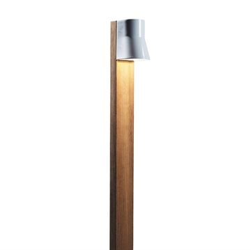 Royal Botania Beacon Bedlampe 2,2W led Teak/Porcelæn