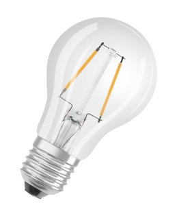 osram 107465 LED Retro std 2,5W=25W klar E27