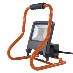 LED WORKLIGHT R-STAND 50W 4000K med 2 udtag Ean: 4058075321342