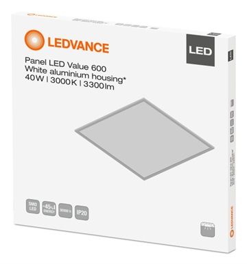 Ledvance 066588 LED panel Value 60x60cm 40W 3000K