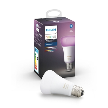 Philips Hue white and Color ambiance E27 1-pak