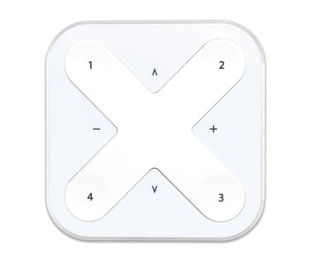 Casambi wireless wall switch hvid eller sort