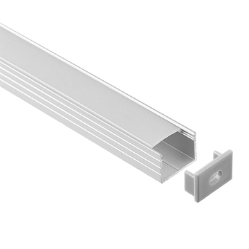 Alu Profil 1813 til Led Strip 250cm