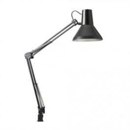 Jensen Arkitektlampe Sort Inkl. Væg/bord Beslag