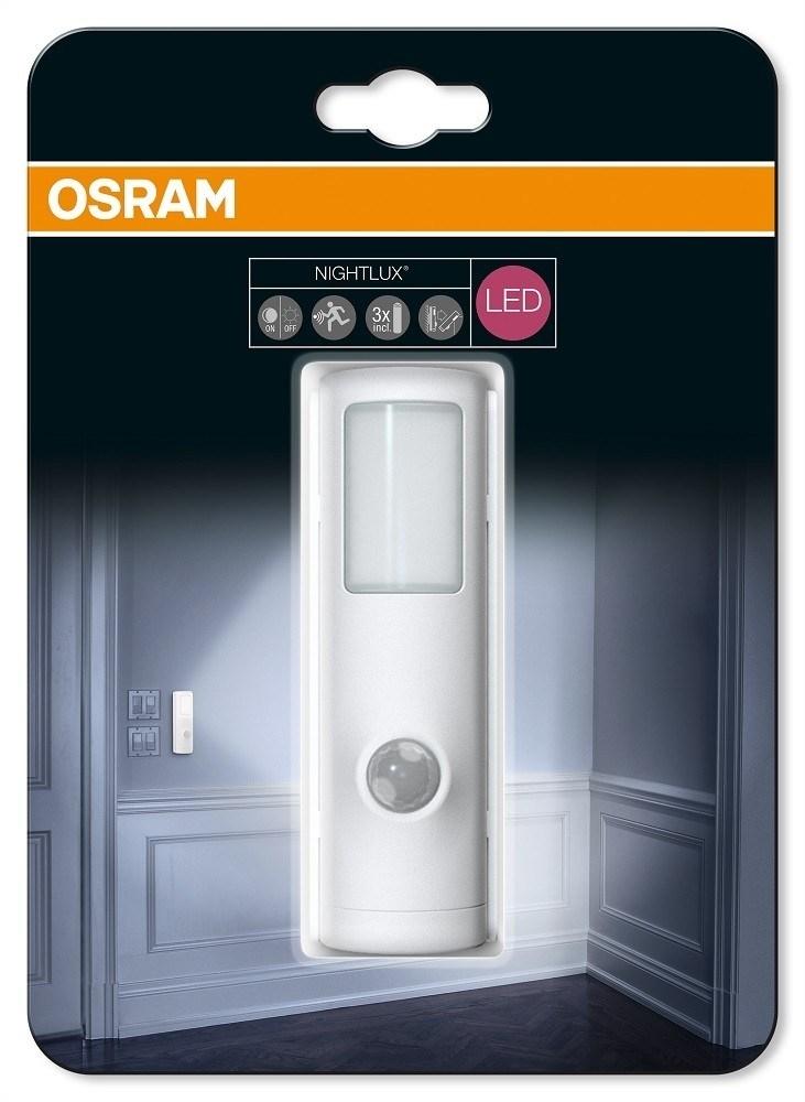 osram led nightlux torch batterilampe med sensor ip54. Black Bedroom Furniture Sets. Home Design Ideas